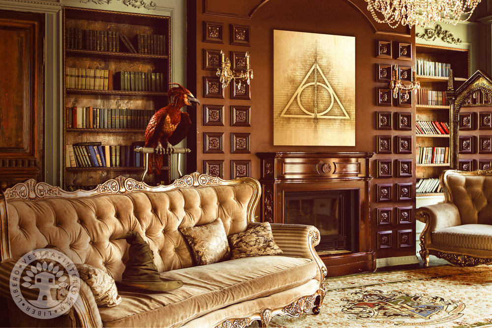 Dumbledore's Study by ClubHouse Collective