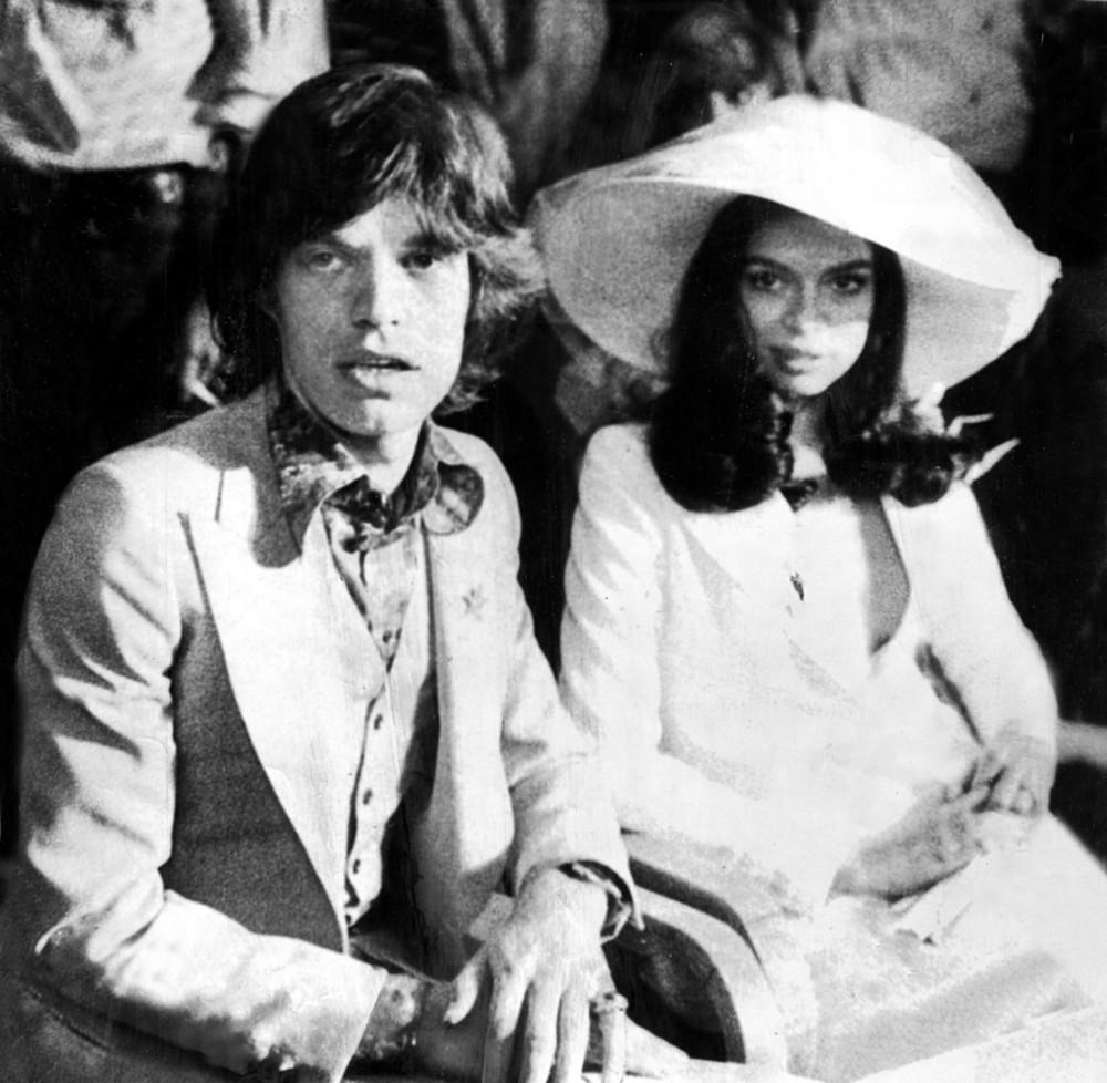 Bianca and Mick Jagger