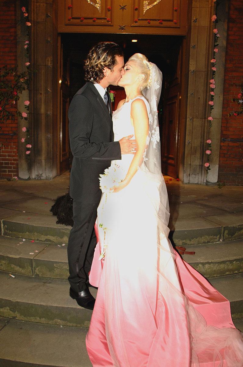 Gwen Stefani and Gavin Rossdale Via Vogue.com