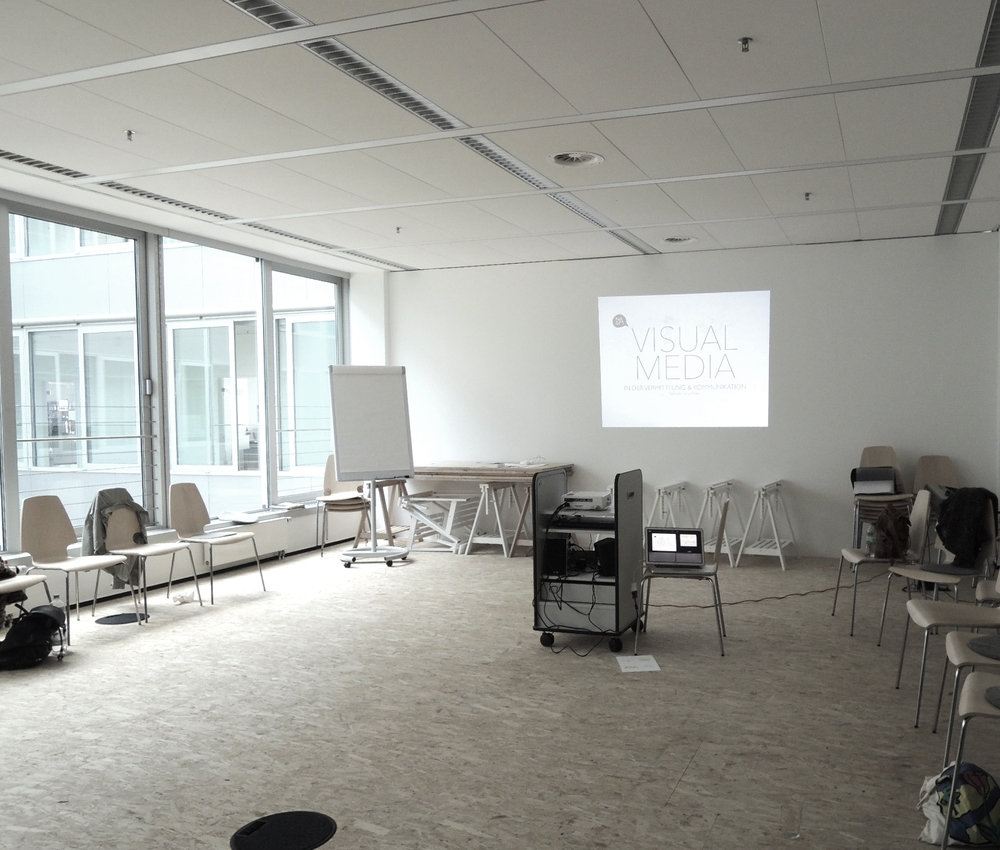 "Modul Neue Medien am Studiengang ""Expressive Arts in Social Transformation"", MSH, Hamburg"