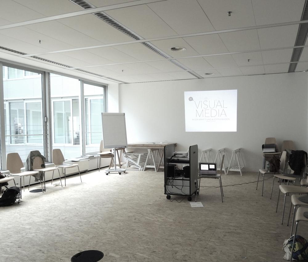 "Modul Neue Medien am Studiengang ""Expressive Arts in Social Transformation"", MSH, Hamburg"