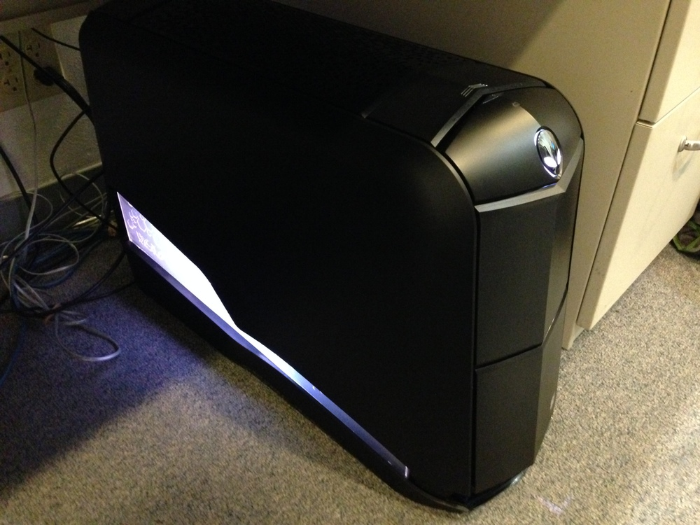 My beautiful new Alienware work computer
