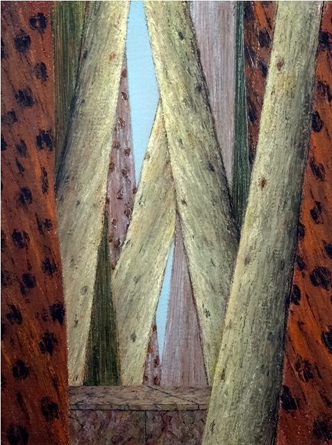 Metamorphose, 2005, 42x53cm, oil on canvas - huile sur toile, sold - vendu