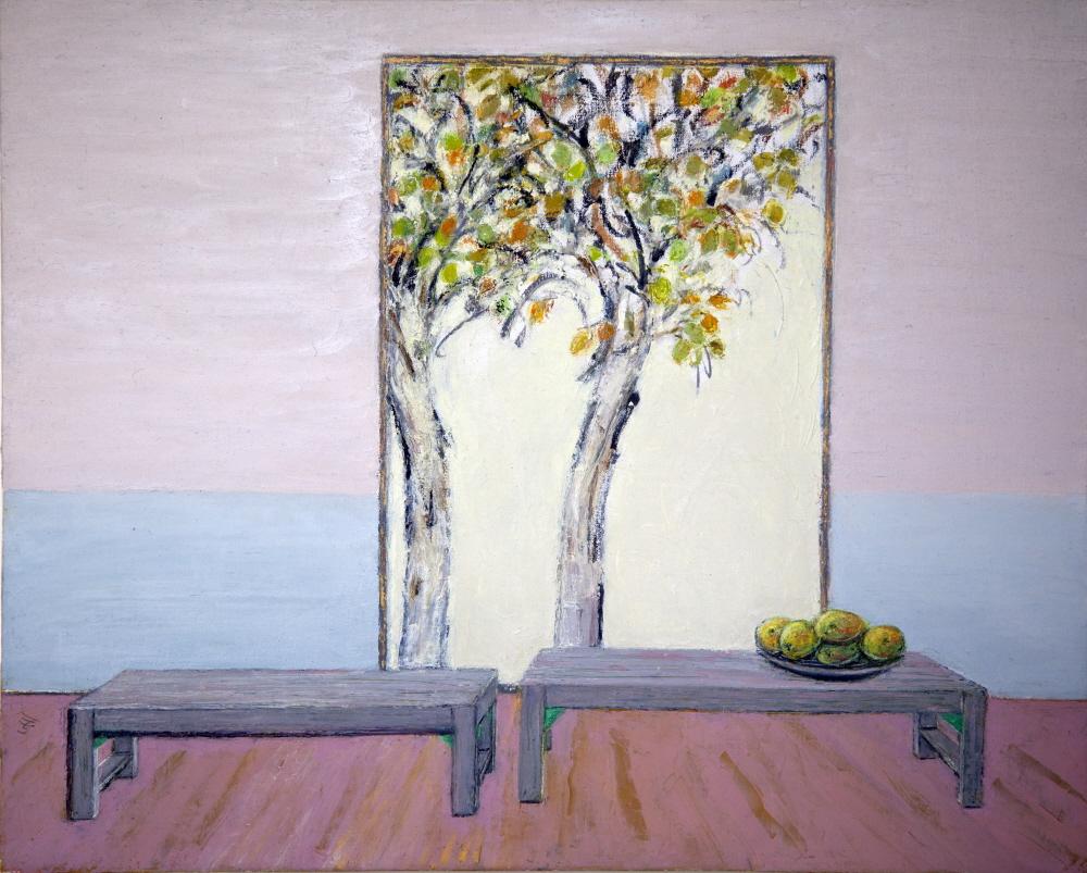 Couple - Couples, 2013, 40x50cm, oil on canvas - huile sur toile, sold - vendu