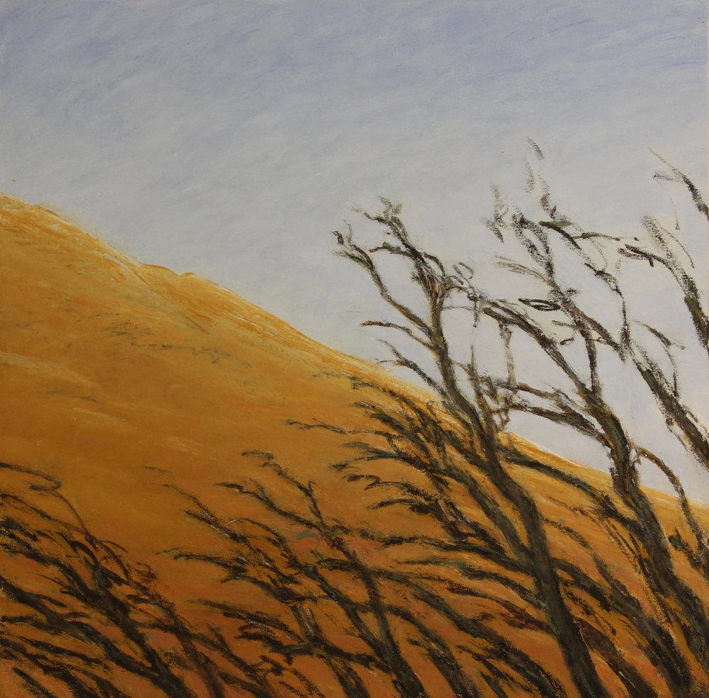 Douce Mort ,2017, 50cm x 50cm, huile sur toile