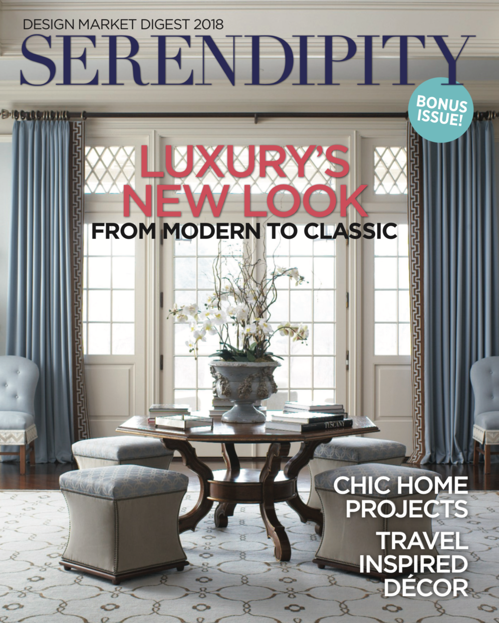 Serendipity Design Market Digest Honor May 2018