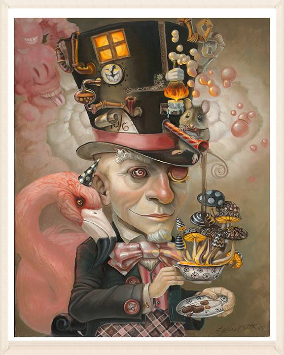 Inspired by Mad Hatter , X Files, Fear & Loathing in Las Vegas, Big Lebowski , Sweeney Todd, Edward Scissorhands, Where the Wild Things Are, Alice in Wonderland , Dali & more!
