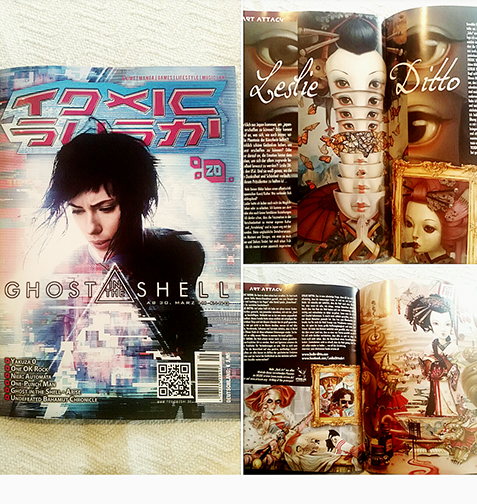 Toxic Sushi German Art & Entertainment Magazine 2017