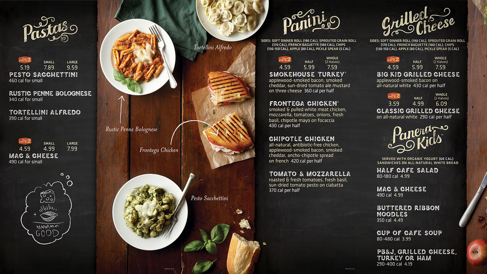 picture relating to Panera Bread Printable Menu referred to as menu - Occupied Keep Bargains