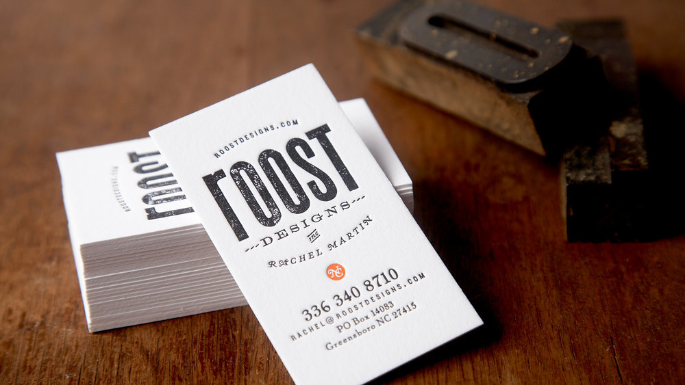 Roost Business Cards