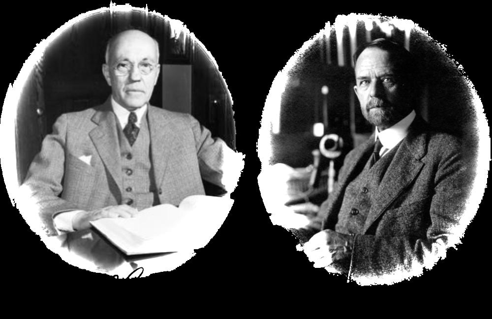 Figure 7. Fernandus Payne and Thomas Hunt Morgan.