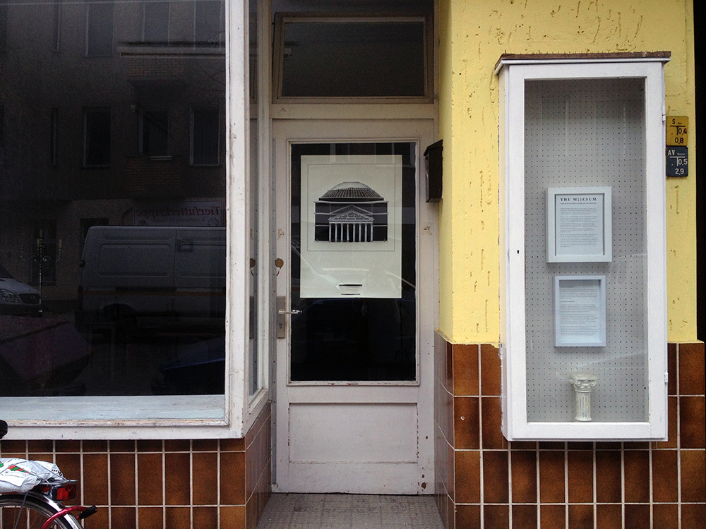 Entrance to Muesum Berlin in Jonas Strasse