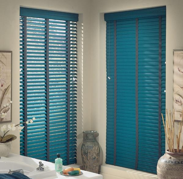 Aluminum Blinds-Blue
