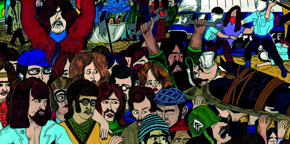 """Voici un Détail de la couvertures recto et verso réalisé pour le label Born Bad . Vinyl sous forme de compilation intitulée """"MOBILISATION GENERALE"""" , compilation """"Protest & Spirit Jazz from France 1970 -1976"""" avec Brigitte Fontaine & Areski , Chêne Noir, François Tusque, Alfred Panou, Artapop73, Kamel Raouf Nagati, Michel Roques, Full Moon Ensemble etc.... Sortie très prochaine !!"""