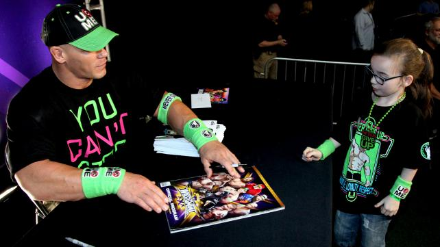 John Cena at WrestleMania Axxess