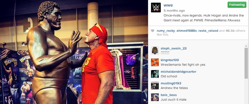 Hulk meets Andre