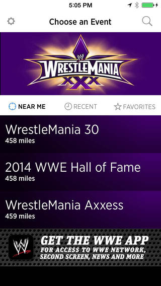 The WrestleMania Beta App used geo-location and Apple's iBeacon technology to give WrestleMania attendees a whole new experience visiting New Orleans.