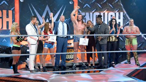 Sara Lee and Josh are named the winners of WWE Tough Enough.