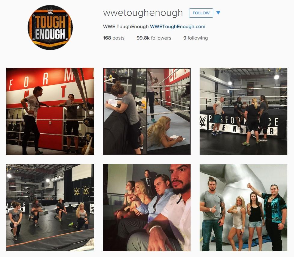 WWE Tough Enough on Instagram