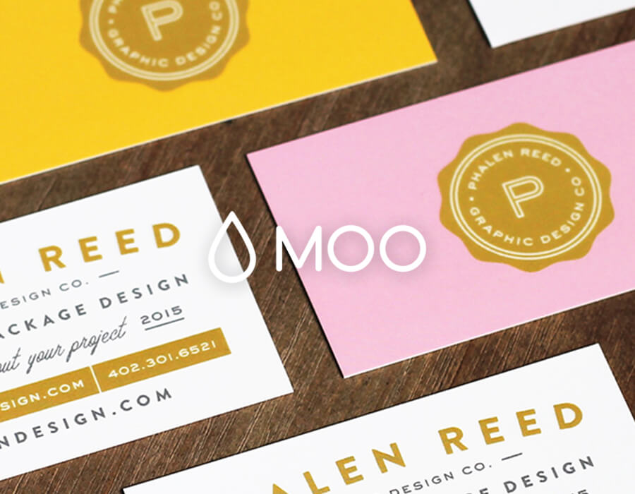 Business Cards / Postcards - Moo is a one-stop shop for business cards, postcards, greeting cards, and more. They offer unique printing styles and excel in quality and customer service. Printfinity is one of their coolest features which allows you to print different designs on each card.Get 20% off your first order using the link below.