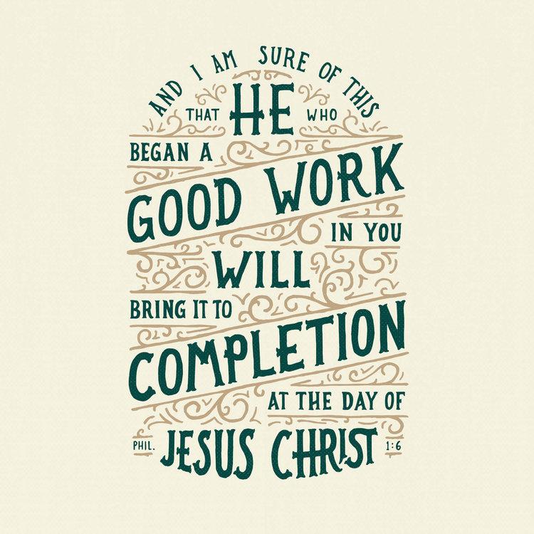 philippians 1 6 scripture type