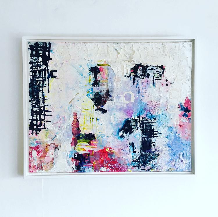 White Sumo Frame/Canvas