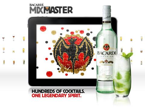 BACARDI Mixmaster iPad