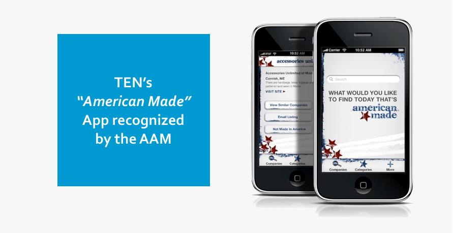 """American Made"" app"