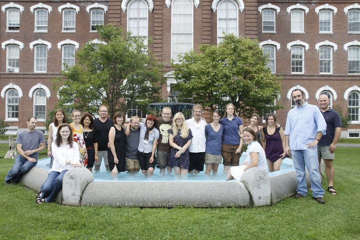 MFA Graduating Class, August 2010