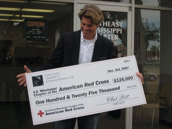 Chet's Charitable Cause - Red Cross Katrina Benefit