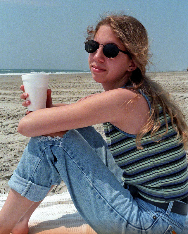 Karina at the Beach, 10th Grade