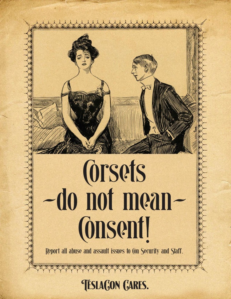 TeslaCon: Corsets Do Not Mean Consent
