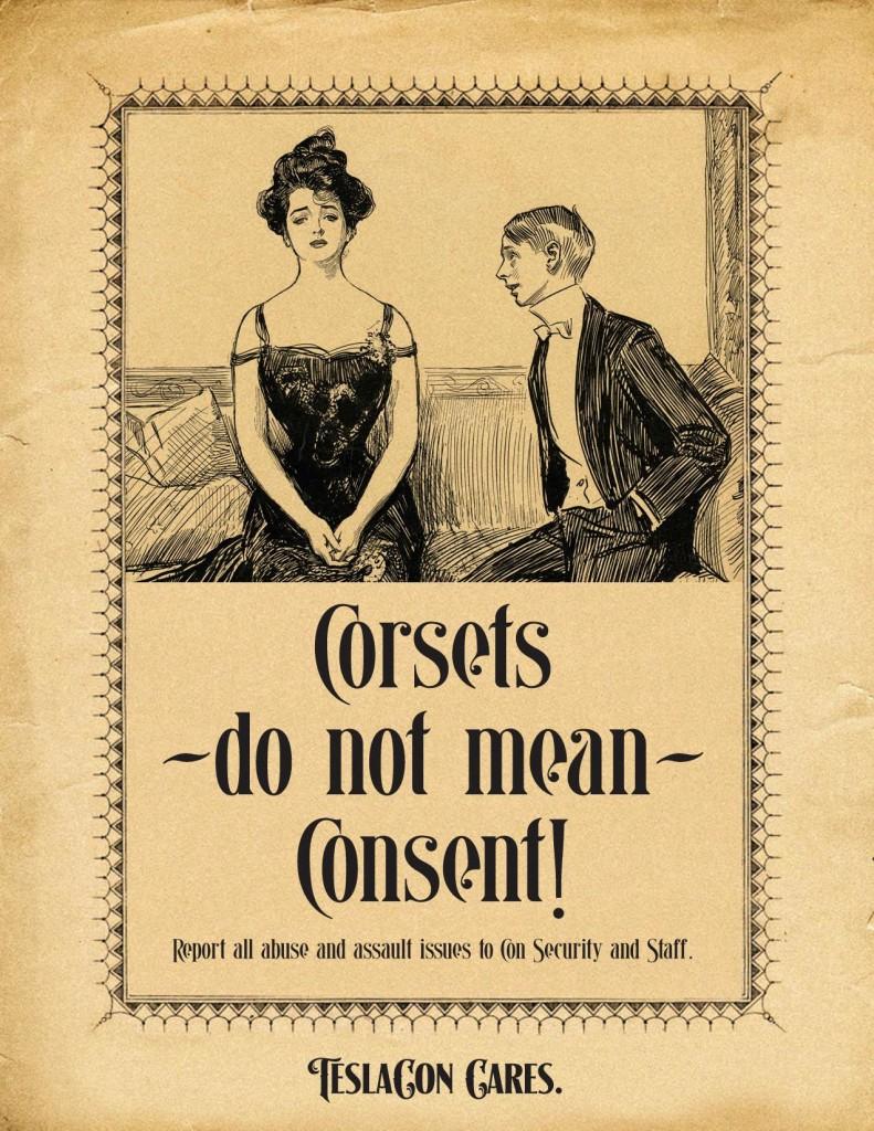 TeslaCon: Corsets Do Not Mean Consent