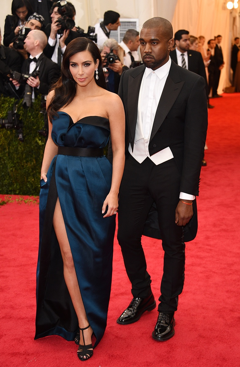 Kim and Kanye going through the motions of mediocrity.