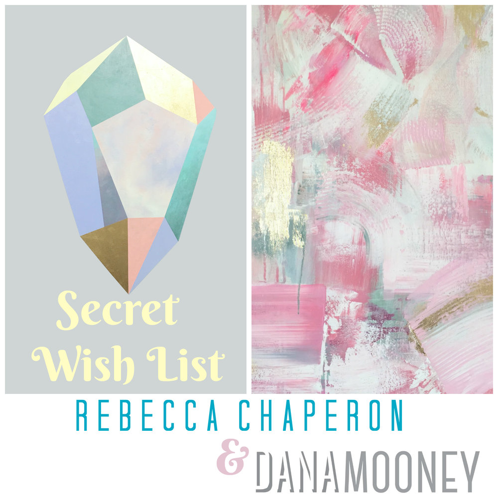 On Dec. 9 I'll be joining my friend Rebecca Chaperon in her studio to show our favourite pieces, and we'll be creating a Secret Wishlist Wall too - with all pieces under $300.   Secret Wishlist - Open Studio with Rebecca Chaperon Dec. 9 12-4pm, 2416 Main Street, Vancouver BC