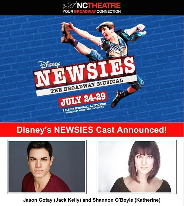 Say hello to Jack Kelly and Katherine...Plumber...😉 @newsies 📰#next #watchwhathappens 📝