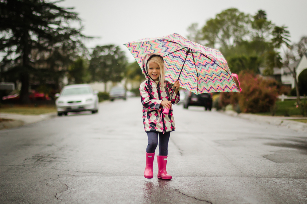 {Week 6:52} February 2nd || Hoping for big puddles and a downpour - In front of our house, Santa Barbara