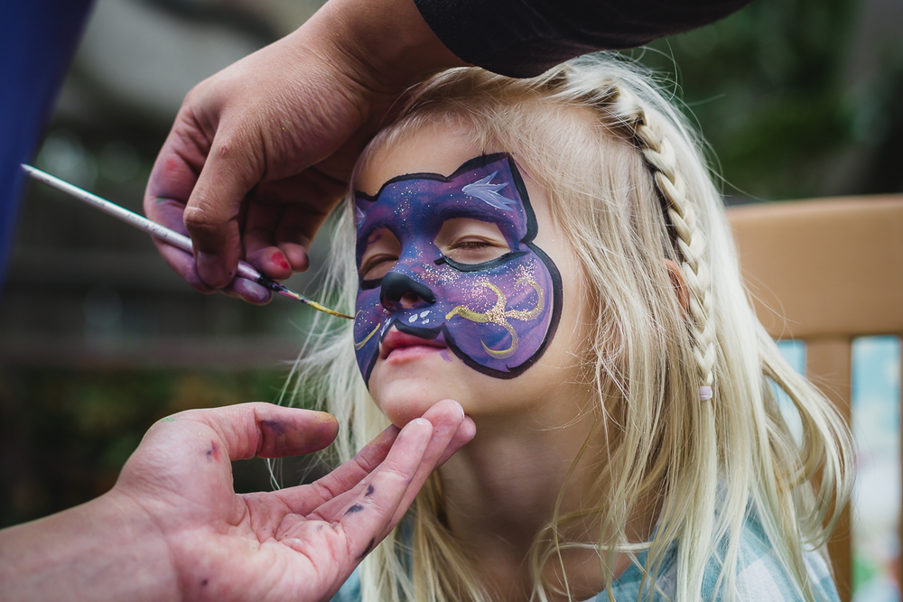 {Week 12;52} || March 22nd. First face paint - Santa Barbara Zoo
