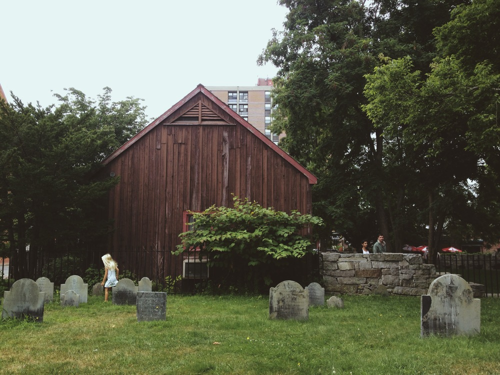 BURIAL GROUND || Francesca, Salem, Mass.