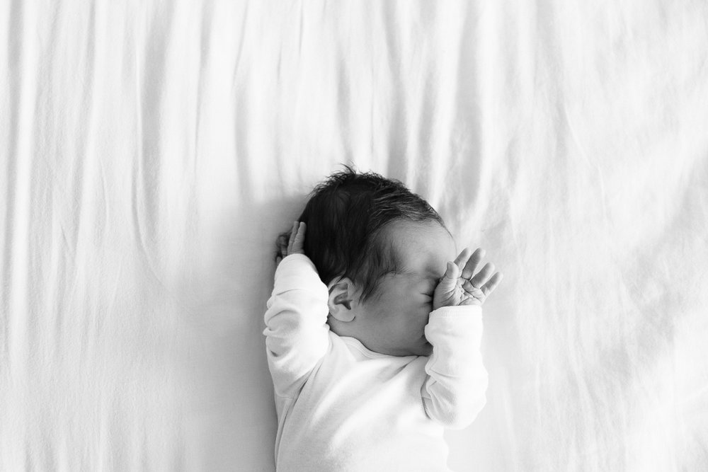 GRAY NEWBORN || In-home, Hermosa Beach, CA