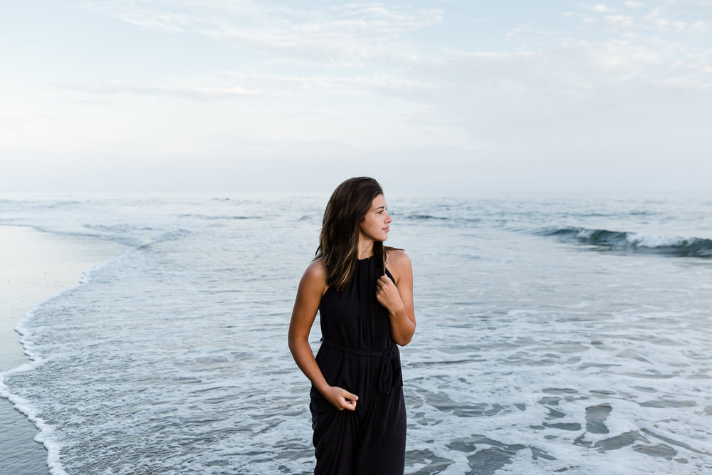 LEXI KAUFMAN || Senior Photos || Hendry's Beach, Santa Barbara
