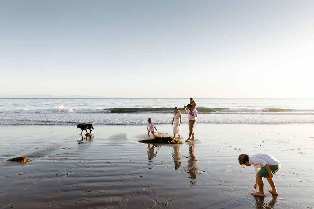 MCGINNESS FAMILY || Hope Ranch Beach, Santa Barbara, CA