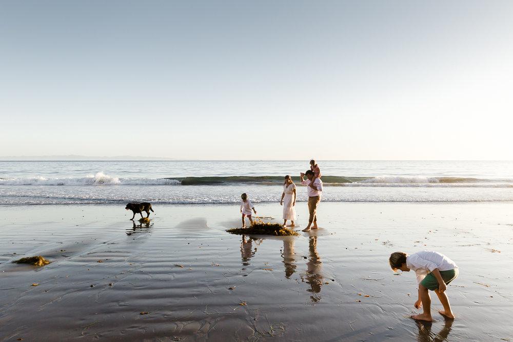 mcginness family - Hope Ranch Beach, Santa Barbara, CA