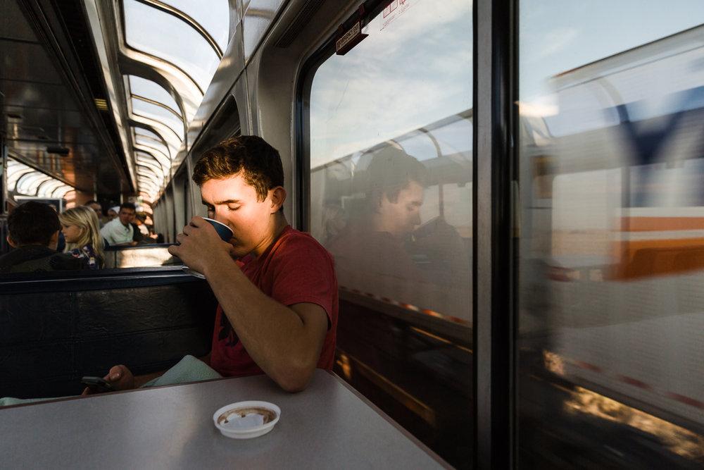 Cross Country on Amtrak - and parts in between || summer twenty-seventeen