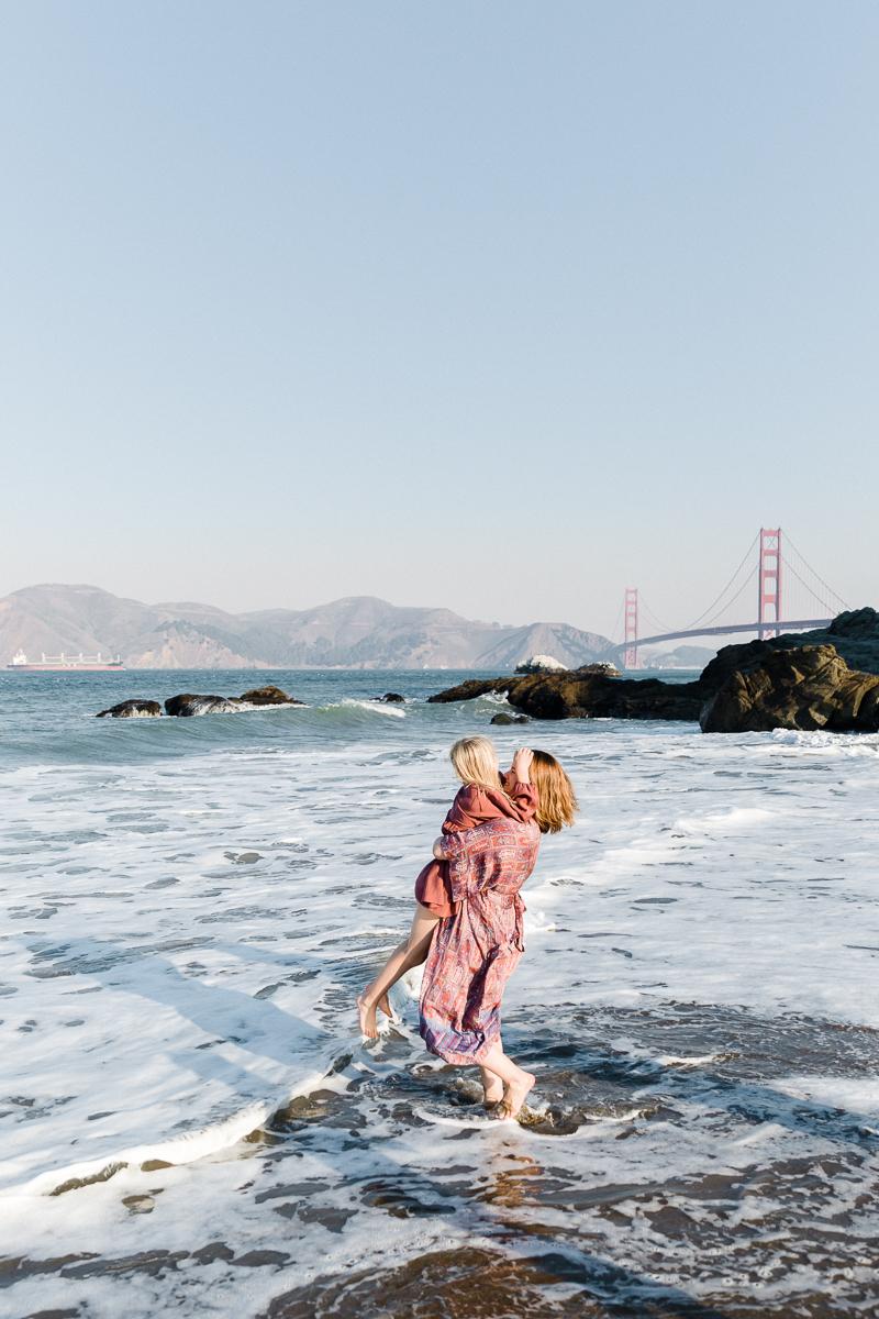 knicksern family - Baker Beach, San Francisco, CA