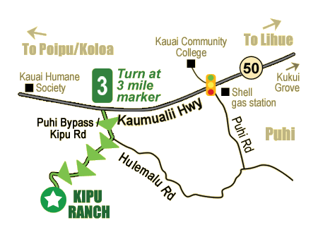 PHOTO CREDIT: Above map is from the Kipu Ranch Adventures' website.