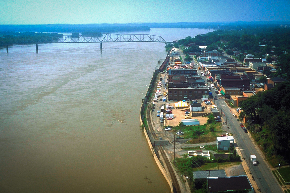 Image of Cape Girardeau via  Google .