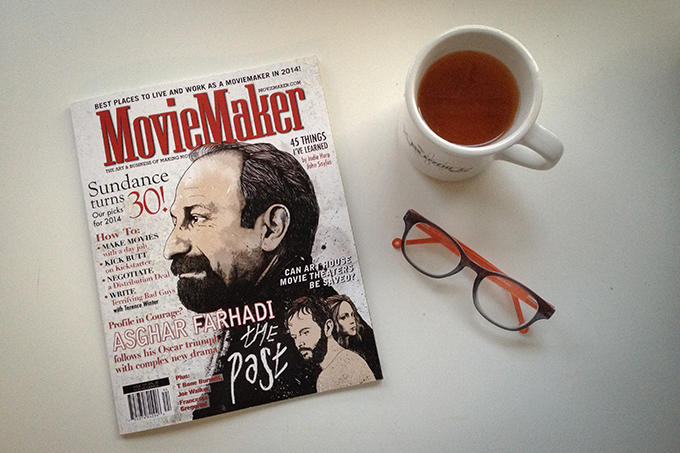 "PHOTO CREDIT: The MovieMaker issue featuring the ""Best Places to Live and Work as a Moviemaker in 2014!"" Photo by Sarah Le."