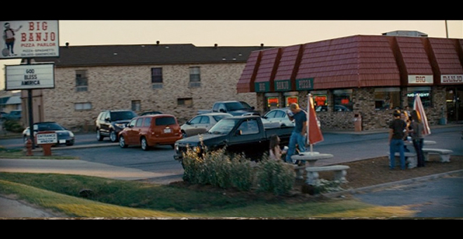 PHOTO CREDIT: Screenshot of the Big Banjo, one of the film locations in Dumas, Arkansas.