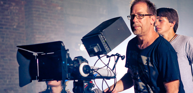 PHOTO CREDITS: Above two photos of cinematographer Michael Allen at work are from Michael Allen's website.
